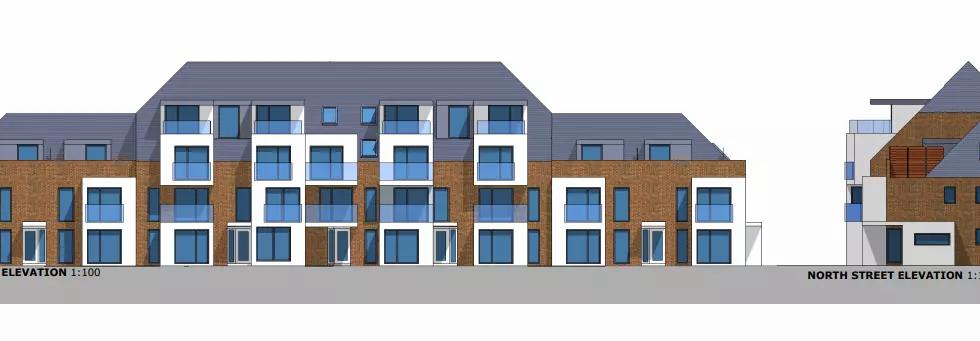 East Acorn Street Proposed Elevation