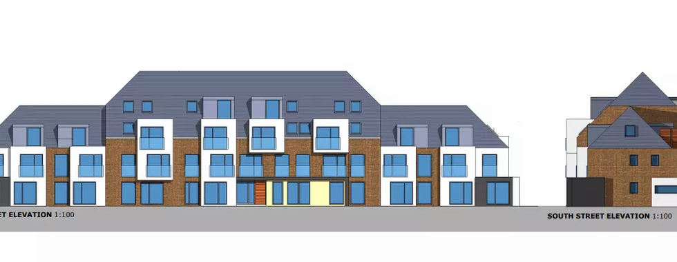 West Albion Street Proposed Elevation
