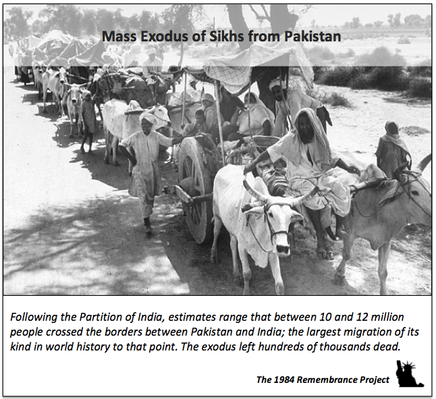 The mass exodus of Sikhs from Pakistan d