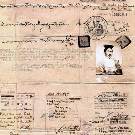THE SHAKABPA PASSPORT