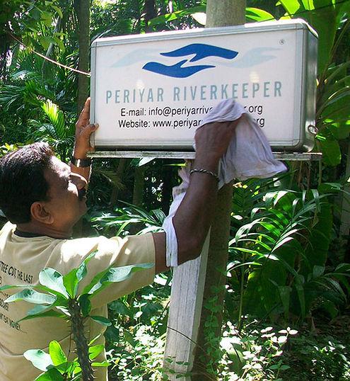 VJ Jose, Periyar Riverkeeper, ker