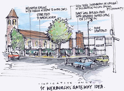 How St Werburghs Gateway may look without billboards.