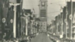 Stuttgart Under the Nazis: Adolf Hitler visit in 1938.