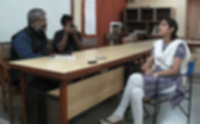 Team NID in conversation with Bhoomika Mehta, Financial Literary Coordinator of SEWA Bank