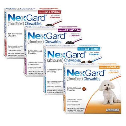 Nexgard Chewable Tablets - DOGS