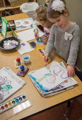 Creating Art in Class