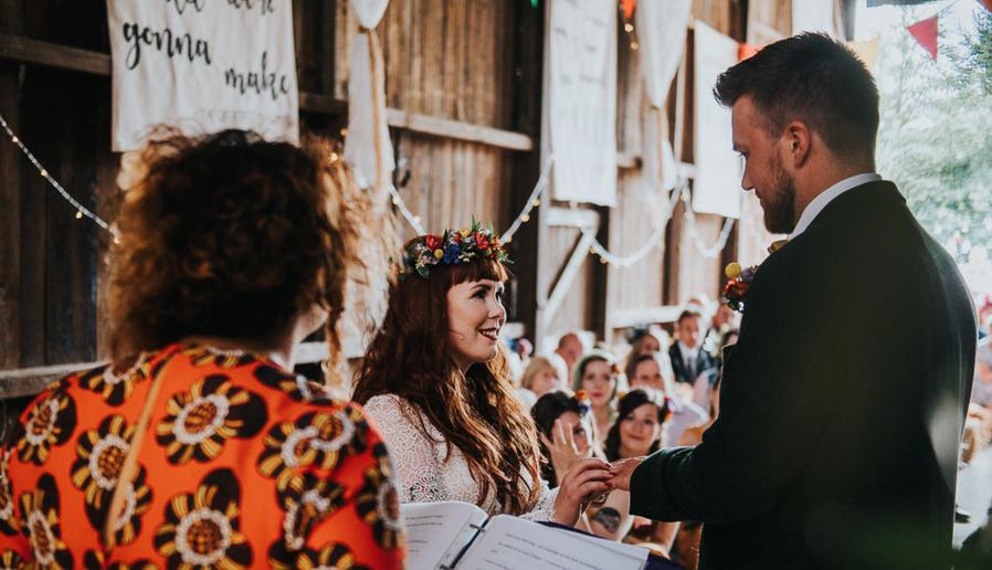 11 NON-TRADITIONAL WEDDING CEREMONY READINGS