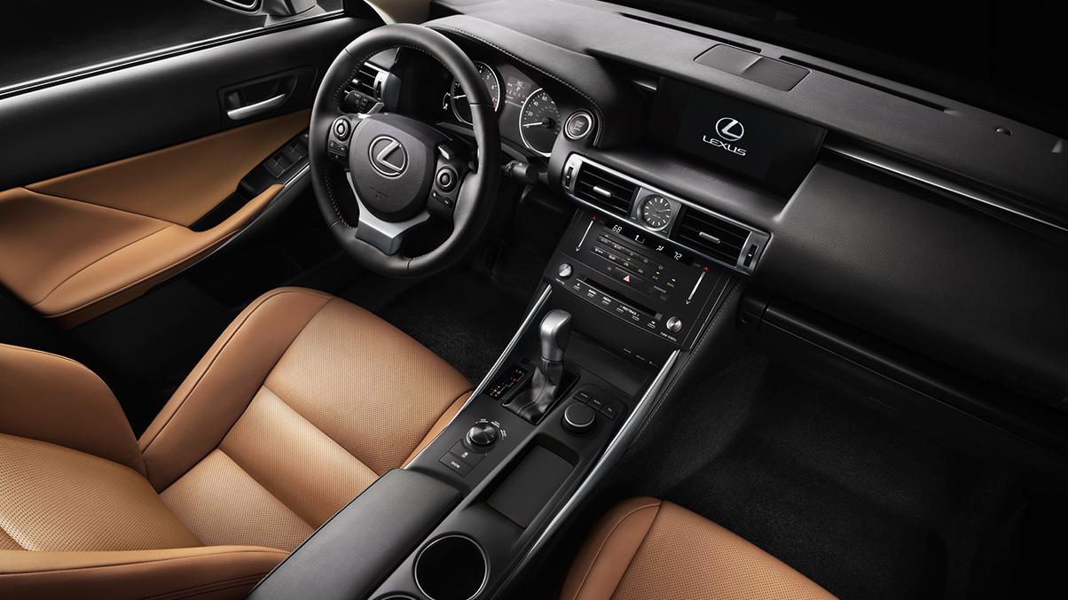 2015 Lexus rc Cabin