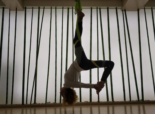 Воздушный Пилатес и Йога в Yoga Station 🙏🥀