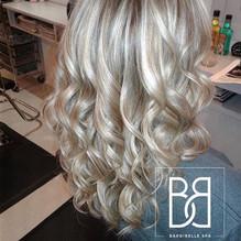 Balayage blond glacial!