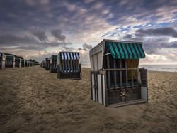Strandkörbe am Strand von Zinnowitz