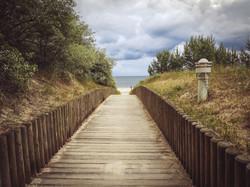 Strandaufgang von Zinnowitz