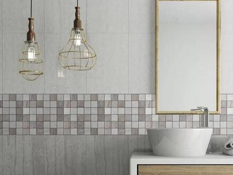Trending tile for the bath