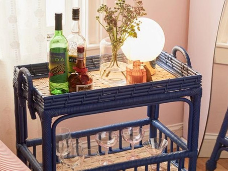 Bar carts add that special something...
