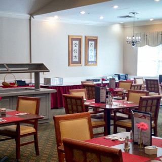 Dining Room with Salad Bar