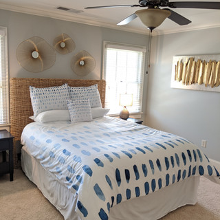 Beachy Guest bedroom