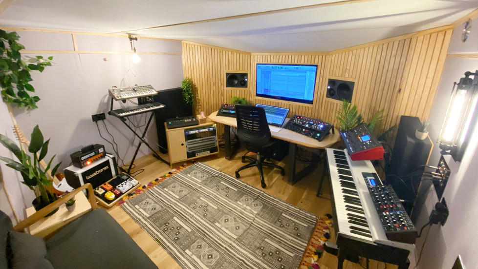 01 Studio Build Blog