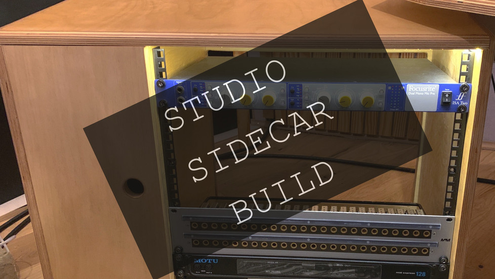 22 You Should Have Been There By My Side: Studio Sidecar Build