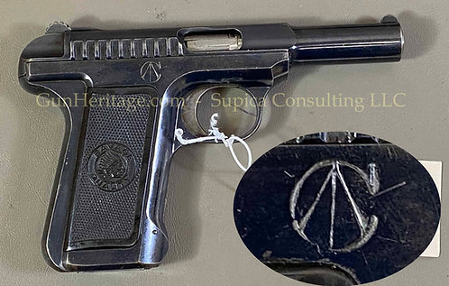 Rare Canadian purchase Savage Model 1907 pistol