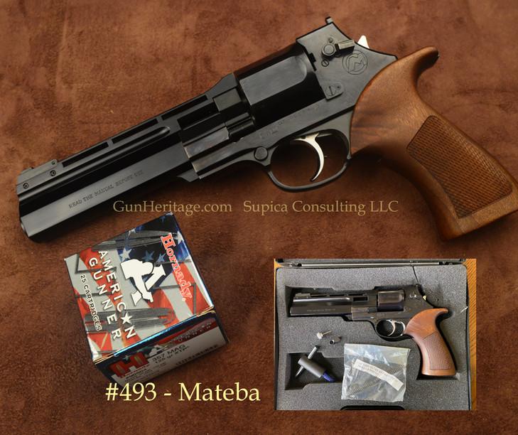 493 – Mateba Revolver, .357 Magnum$3,000