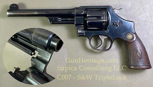 S&W .44 HE 1st Model Triplelock