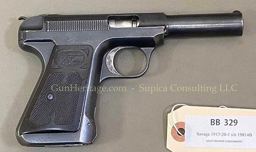 Savage Model 1917 pistol, .380 ACP