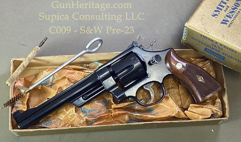 S&W Pre-Model 23 38-44 Outdoorsman in box