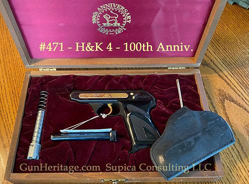 Heckler & Koch HK4 pistol - H&R Commemorative, cased two caliber set