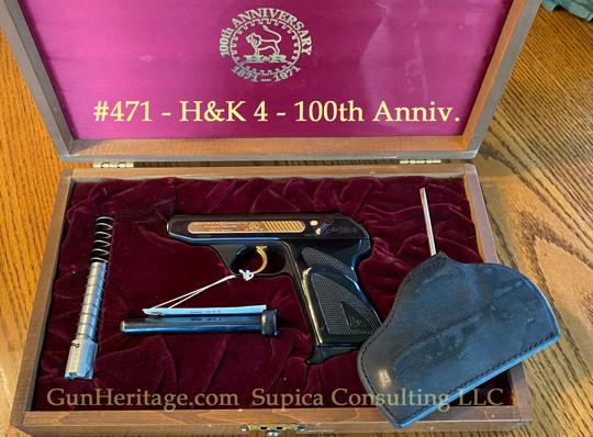 471 – HK4, 100th Anniv., cased w/ conversion$2,500