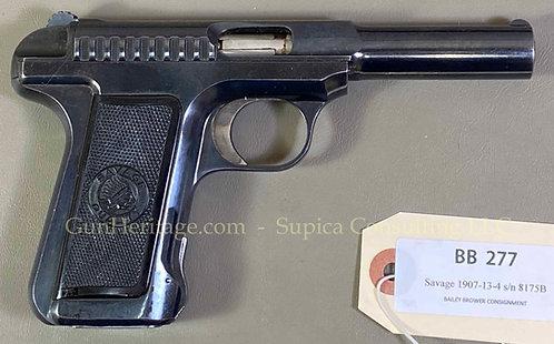 Savage Model 1907 pistol, .380 ACP