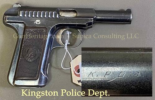Rare Kingston Police Department Savage Model 1907 pistol