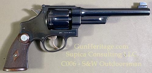 S&W Pre War 38-44 Outdoorsman target