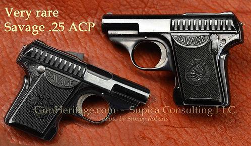 Extremely rare Savage .25 ACP pistol