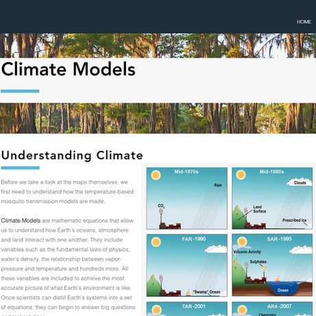 Climate Models Page