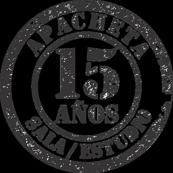 Logotipo Apacheta Sala/Estudio. Guillermo Cacace
