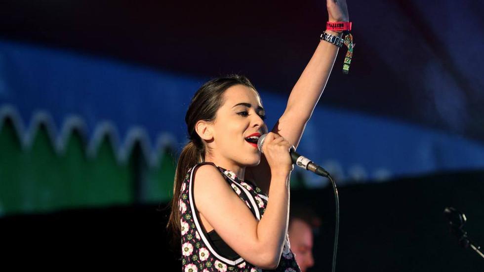 Raphaella played Bestival on Sunday - BBC Introducing Stage