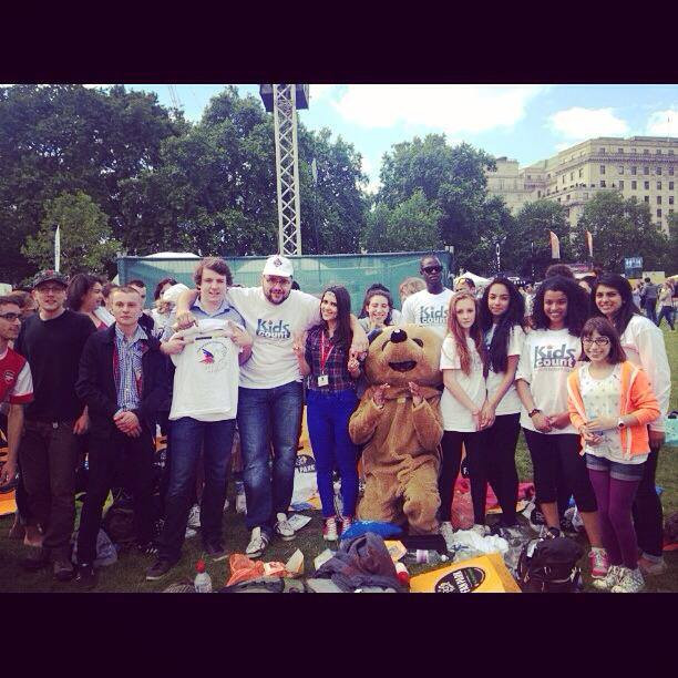 Tour De France - Green Park - #iSTANDfor Anti-Bullying Campaign
