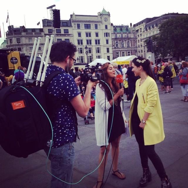 London Live Maleena Pone interviews Raphaella live on the #LondonGo Show