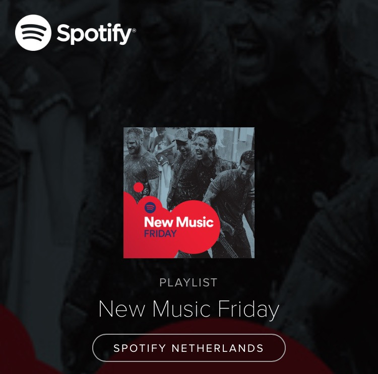 Spotify NL add 'All My Life' to the #NewMusicFriday Playlist