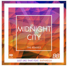 ***OUT NOW*** Midnight City - 'Just Like That' feat. RAPHAELLA