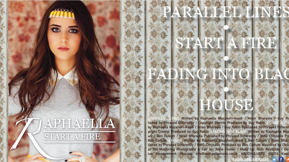 Download Raphaella's 'Start A Fire' EP on iTunes by clicking on the image below