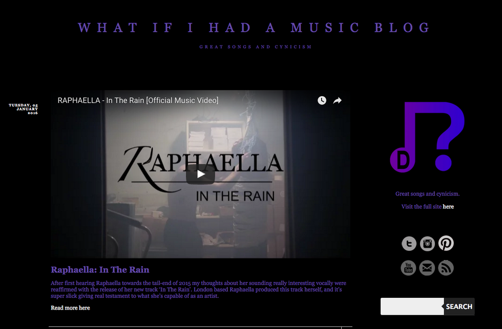What If I Had A Music Blog: Review 'In The Rain'