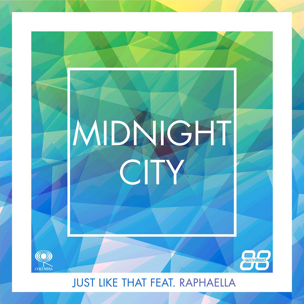 Midnight City debut single 'Just Like That' Feat RAPHAELLA will be released on the 12th Feb