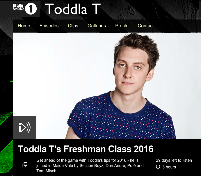 Toddla T 'Dropping Like Flies'