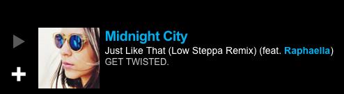 BBC 1Xtra Mistajam World Exclusive Low Steppa Remix Midnight City Ft. Raphaella 'Just Like That&
