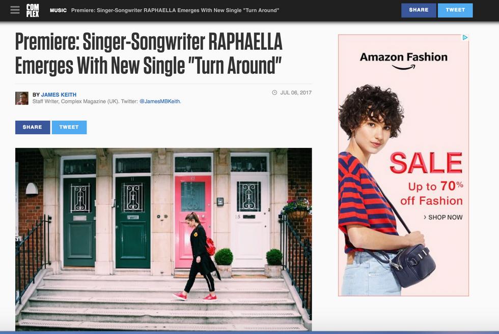 Complex Premiere: Raphaella - Turn Around