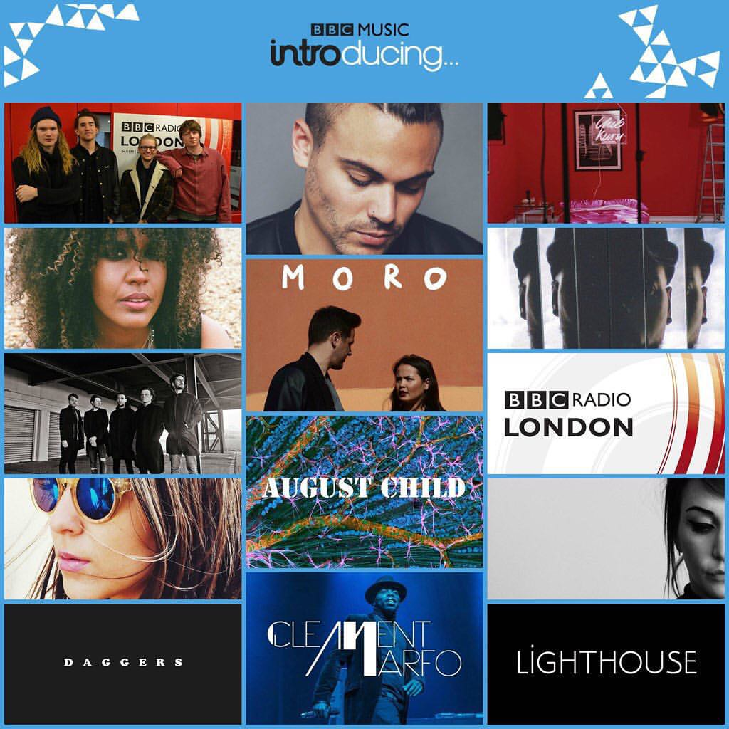 In The Rain BBC Introducing London