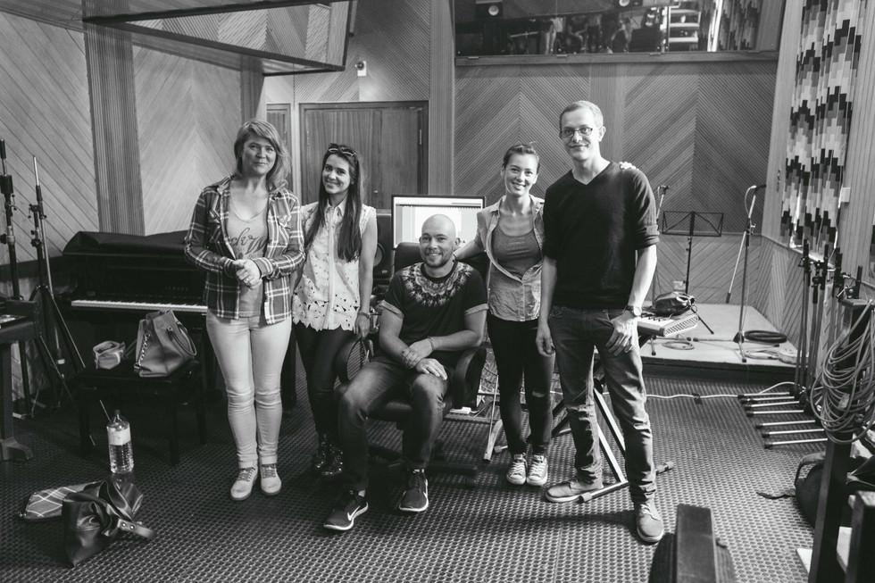 RAK Studios - Bucks Music Group 'Artist Focus' Songwriting Camp - Day 1 with Raphaella