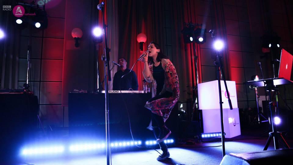 Radio 1, 1Xtra + BBC Asian Network play STRONG - Steel Banglez X Raphaella Feat. Tazzz live collabor
