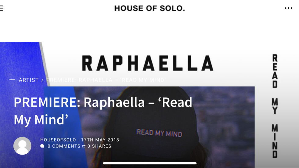 House of Solo Premiere: Read My Mind